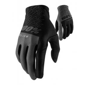 Rękawiczki 100% CELIUM Glove - black grey
