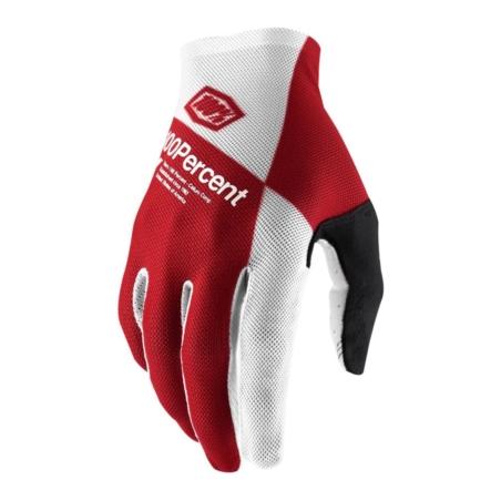Rękawiczki 100% CELIUM Glove - cherry silver