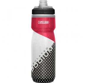 Bidon CamelBak Podium Chill 620ml - red/white/blac
