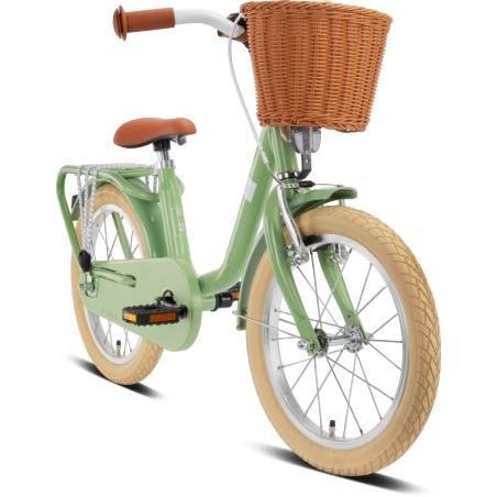 Rower dziecięcy PUKY Steel Classic 16 - retro/gree