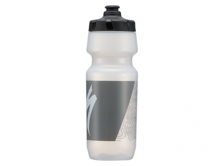 Bidon SPECIALIZED Big Mouth - Translucent/Grey Top