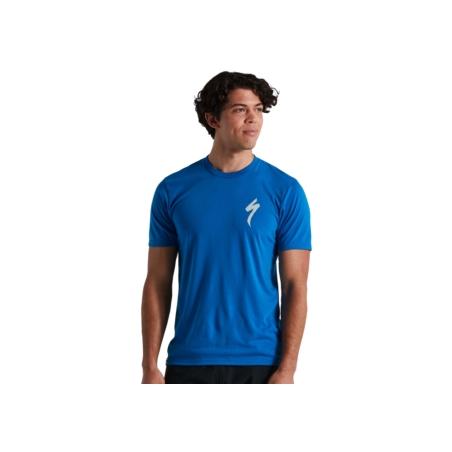 Koszulka meska SPECIALIZED S-LOGO - Cobalt
