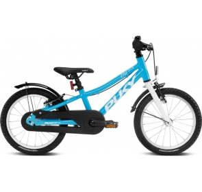 Rower dziecięcy PUKY Cyke 16 z wolnobiegiem - blue