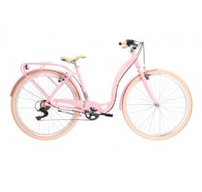 Rower miejski LE GRAND Lille 2 D - róż/szary -2021