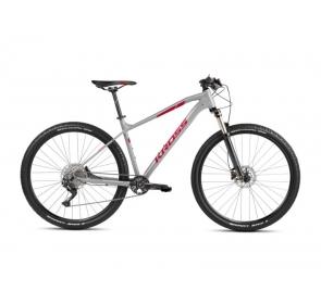 Rower górski KROSS LEVEL 4.0M-szaro/czerwony2021
