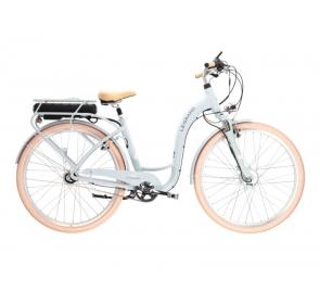 Rower elektryczny miejski LE GRAND eLILLE - szaro/zielony 2021 - 5
