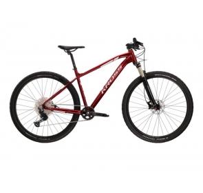 Rower górski KROSS Level 6.0M -rubinowy/srebrny 21
