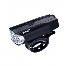 INFINI LAMPA PRZEDNIA LAVA 500 LITE Black USB