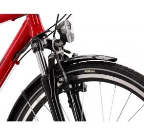 Rower trekkingowy KROSS Trans 3.0  - czerwony/czarny - 2021 - 4
