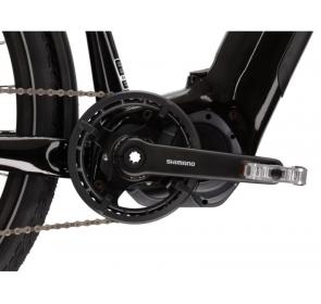 Rower elektryczny KROSS Trans Hybrid 6.0M - czarny