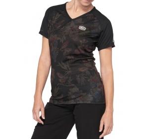 Koszulka damska 100 ARMATIC Jersey black