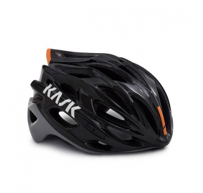 Kask Rowerowy KASK Mojito X - black/orange fluo