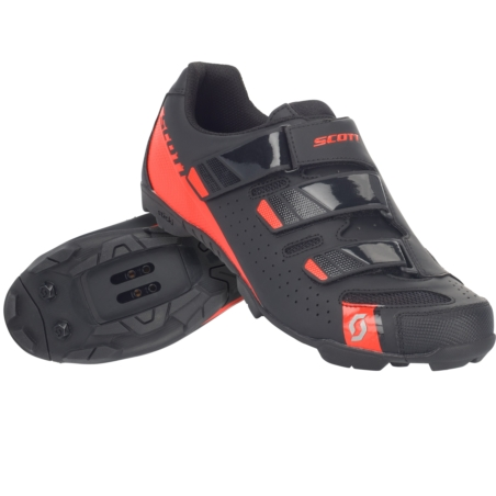 Buty Rowerowe SCOTT MTB Comp RS - black/red