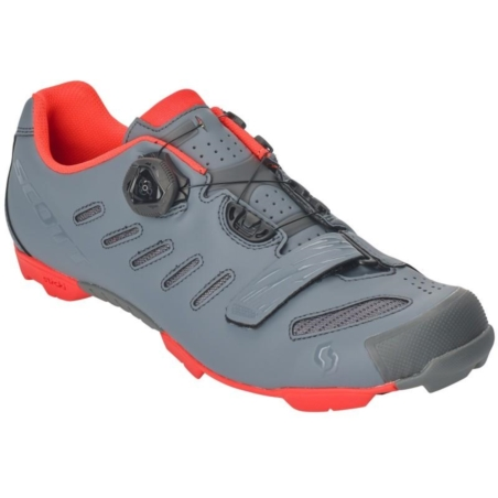 Buty Rowerowe SCOTT MTB Team Boa - grey/orange