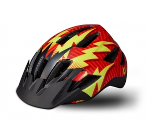 Kask SPECIALIZED Shuffle Child Led z MIPS - red