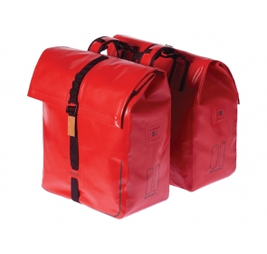 Sakwa miejska BASIL URBAN DRY DOUBLE BAG red