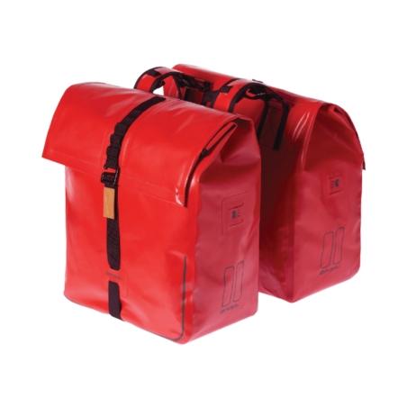 Sakwa miejska BASIL URBAN DRY DOUBLE BAG red