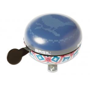 Dzwonek rowerowy BASIL BIG BELL BOHEME 80mm indigo