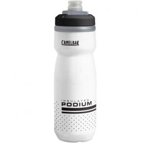 Bidon CamelBak Podium Chill 620ml - white/black