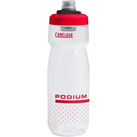 Bidon CamelBak Podium 710ml - clear/red