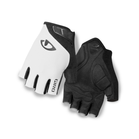 Rękawiczki męskie GIRO JAG white black