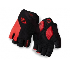 Rękawiczki męskie GIRO STRADE DURE black red