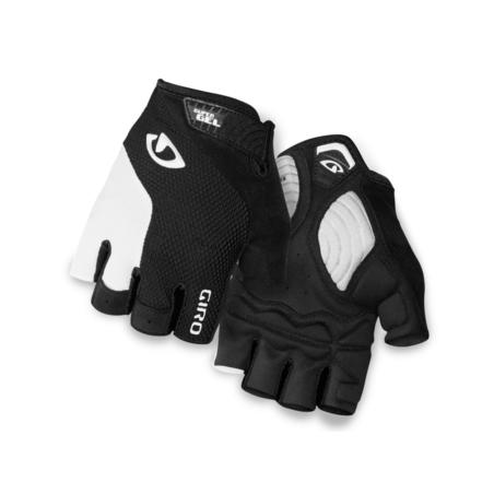 Rękawiczki męskie GIRO STRADE DURE SG white black