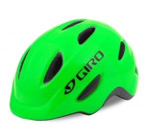 Kask dziecięcy juniorski GIRO SCAMP matte green li