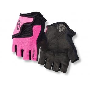 Rękawiczki juniorskie GIRO BRAVO JR bright pink