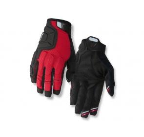 Rękawiczki męskie GIRO REMEDY X2 dark red black