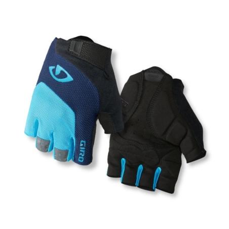 Rękawiczki męskie GIRO BRAVO GEL blue jewel black