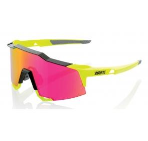 Okulary 100% SPEEDCRAFT - Black/Fluorescent Yellow
