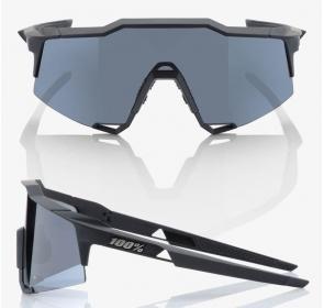 Okulary 100% SPEEDCRAFT - Soft Tact Black Smoke