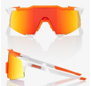 Okulary 100% SPEEDCRAFT - Soft Tact Day Glo Orange