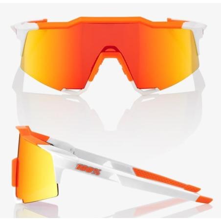 Okulary 100% SPEEDCRAFT - Soft Tact Day Glo Orange