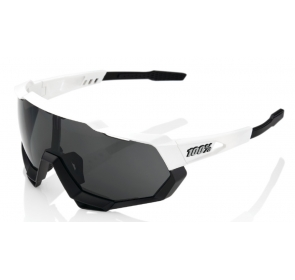 Okulary 100% SPEEDTRAP - Matte White/Black