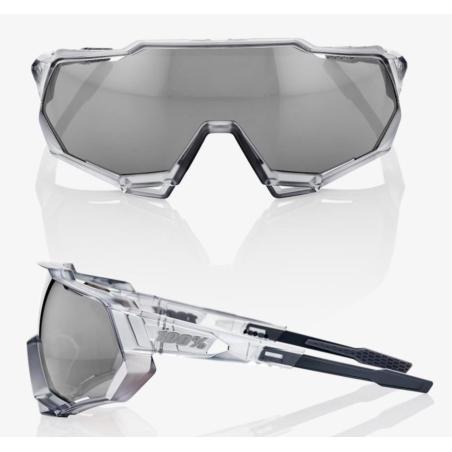 Okulary 100% SPEEDTRAP - Matte Translucent Crystal