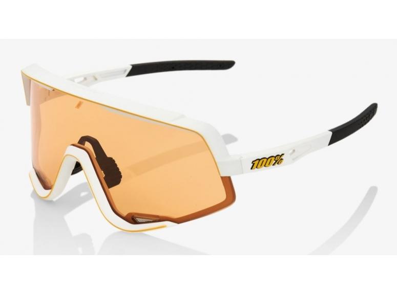 Okulary 100% GLENDALE - Soft Tact Off White