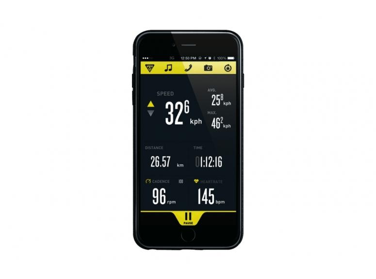 TOPEAK POKROWIEC RIDECASE FOR iPHONE 6/6S PLUS BLK