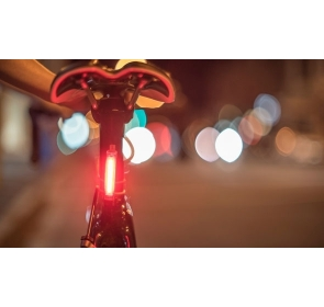 Lampka KNOG Plus tył - czarny