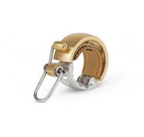 Dzwonek Rowerowy KNOG Oi Luxe mały - złoty