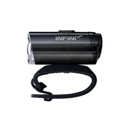 Lampka Rowerowa Przednia INFINI Tron 300 - black
