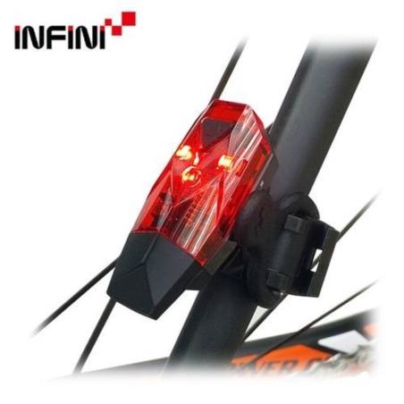 Lampka Rowerowa Tylna INFINI Mini Lava R USB