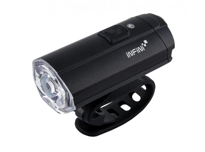 Lampka Rowerowa Przednia INFINI Tron 500 - black