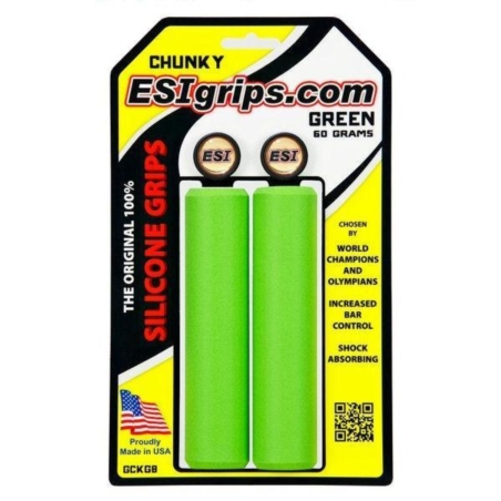 Chwyty Rowerowe ESI Chunky - zielone