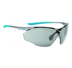 ALPINA OKULARY SPLINTER SHIELD VL - titan/cyan