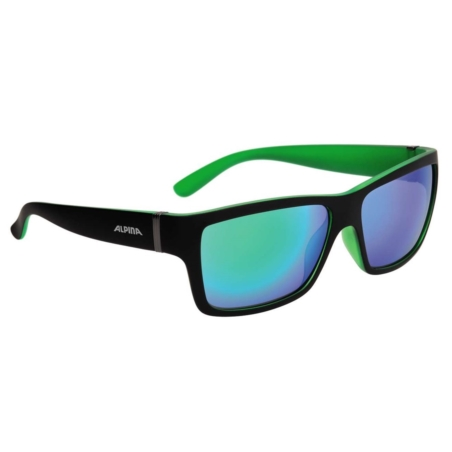 ALPINA OKULARY KACEY - black matt/green