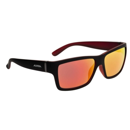 ALPINA OKULARY KACEY - black matt/red