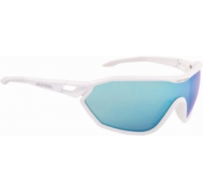 ALPINA OKULARY S-WAY CM + - white matt