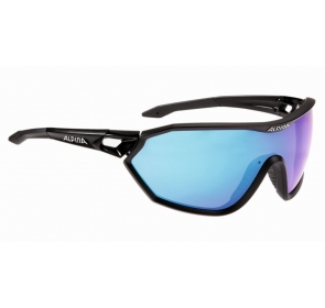 ALPINA OKULARY S-WAY CM + - black matt